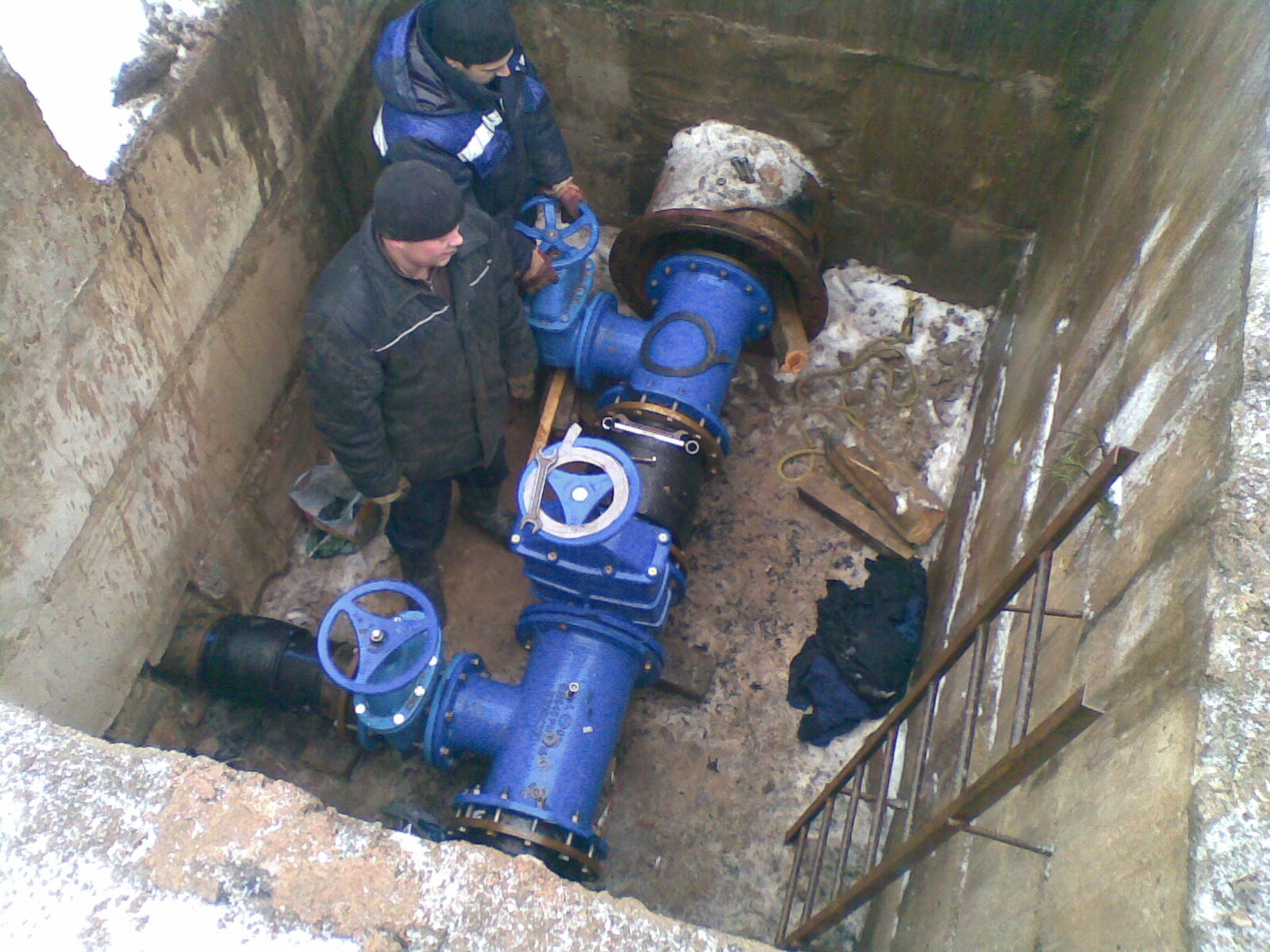 Рубцовский водоканал начал прокладывать водопровода на правый берег реки Алей